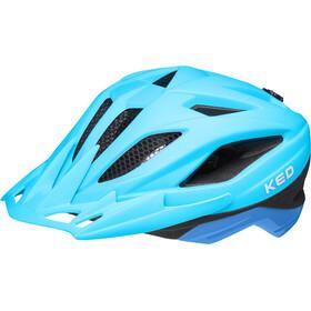 KED Street Jr. Pro Kask rowerowy Dzieci, niebieski